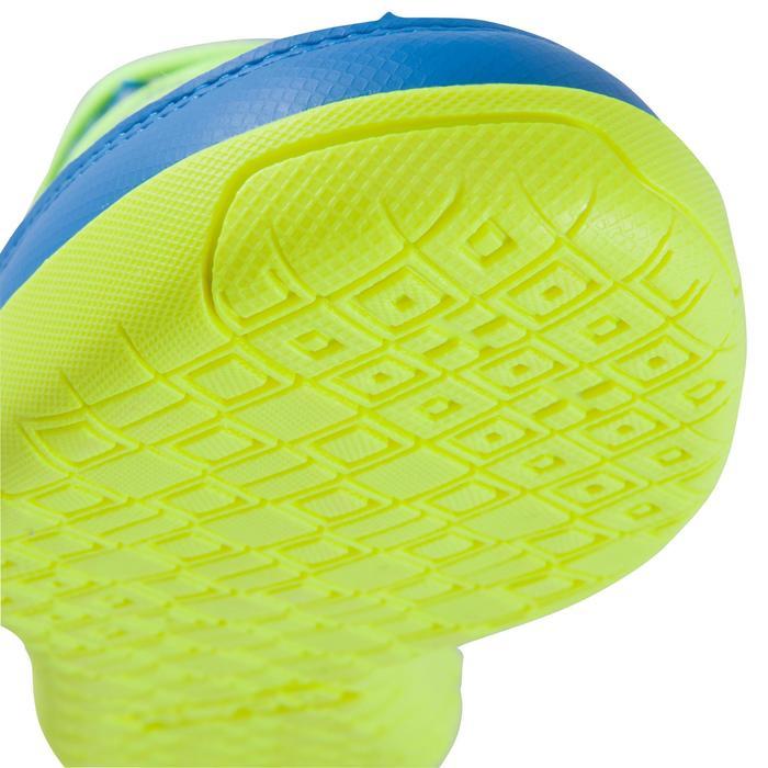 Chaussure de futsal enfant CLR 500 à scratch bleue - 1062031