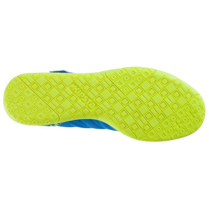 Chaussure de futsal enfant CLR 500 à scratch bleue - 1062032