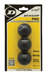 Squashballen Pro dubbele gele stip 3 stuks