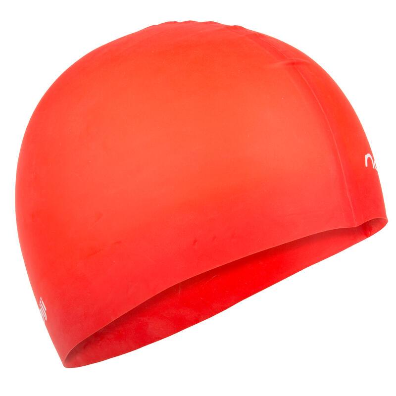 Swim Cap Silicone- Red