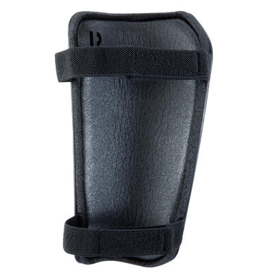 واقي ساق لكرة القدم F100 للكبار - أسود
