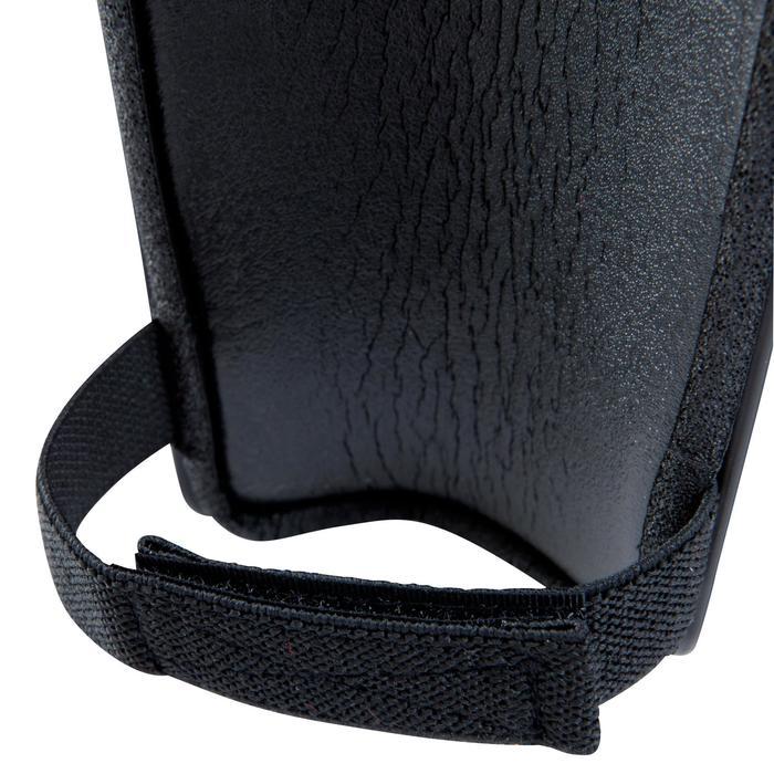 Schienbeinschoner F100 Erwachsene schwarz
