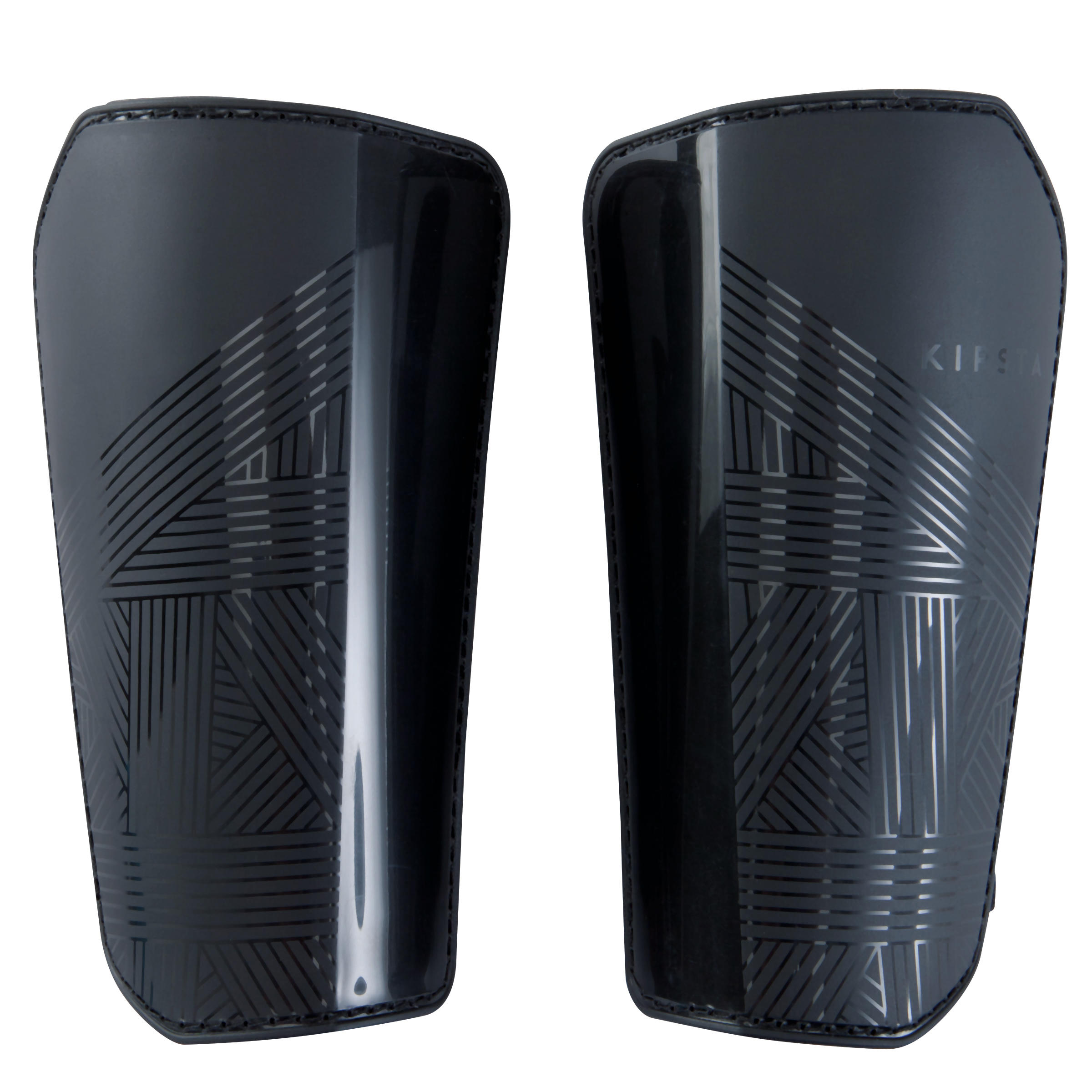 F100 Adult Football Shin Pads - Black