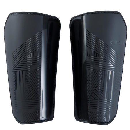 Adult Football Shin Pads F100 - Black