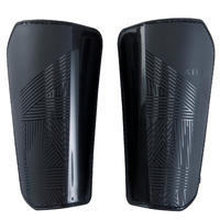 F100 Soccer Shin Pads Black - Adults