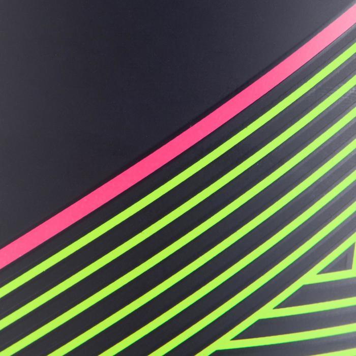 Schienbeinschoner F140 herausnehmbarem Knöchelschutz Erwachsene blau/gelb/rosa