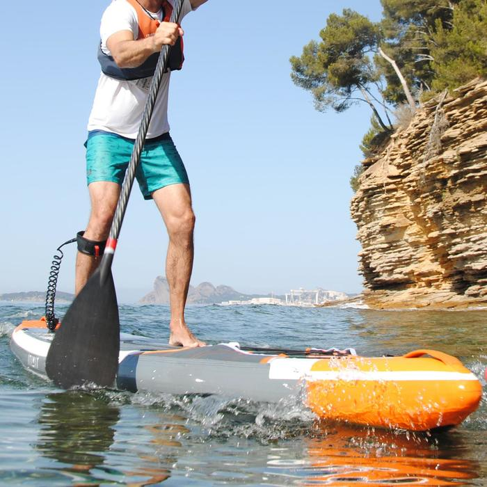 LEASH STAND UP PADDLE NEGRO