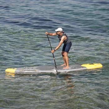 Neoprenshorty Top Kajak Stand Up Paddle 500 Neopren 2 mm Herren grau/blau