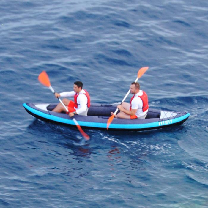 itiwit kayak gonflable 1 2 places new itiwit 2 decathlon. Black Bedroom Furniture Sets. Home Design Ideas