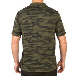 Jagd-Poloshirt 100 Camouflage kaki