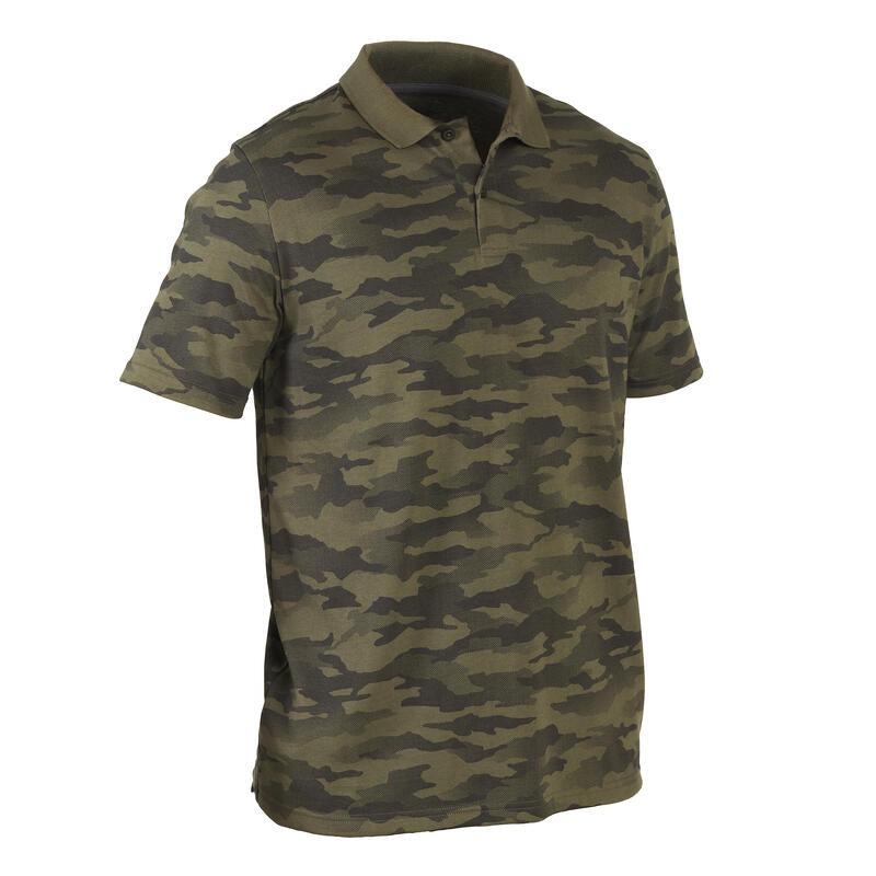 100 Short Sleeve Polo Shirt - Camo