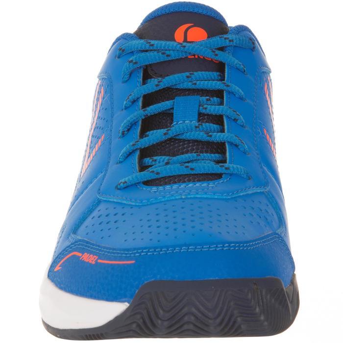 Padelschoenen voor heren PS830 blauw / oranje