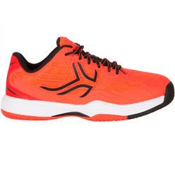 Tennisschoenen kinderen TS 990 allcourt oranje