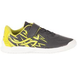 Tennisschoenen voor kinderen TS130 grijs/groen Artengo