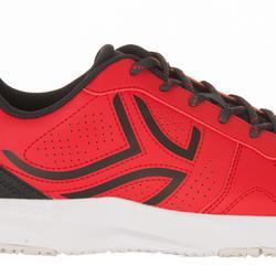 TS830 Tennis Shoes - Black/Red