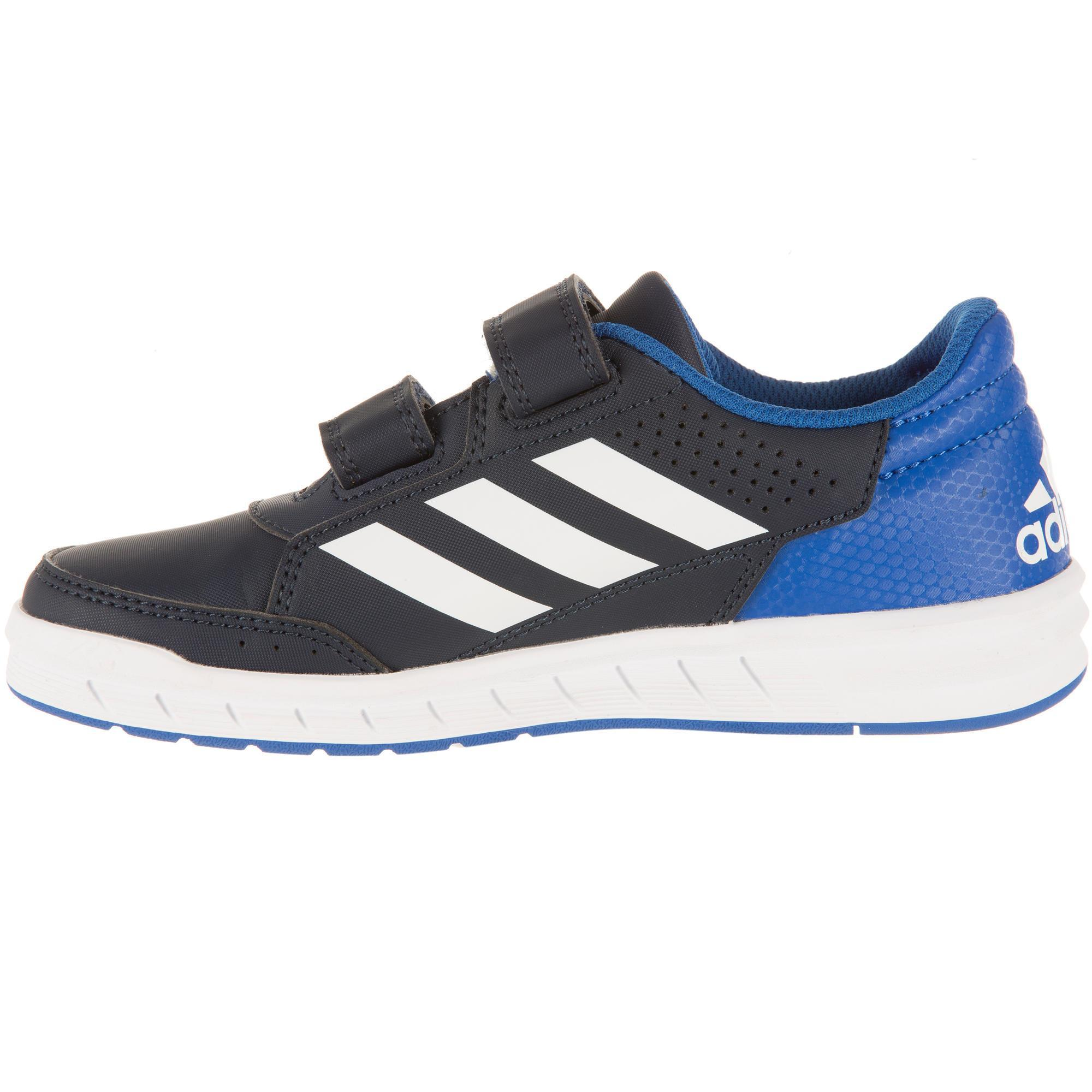 huge discount dc056 a688d Tennis Enfant Bleu Chaussures Decathlon Adidas Altasport De ...