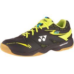 Badminton/squash schoenen SHB-55 zwart/geel