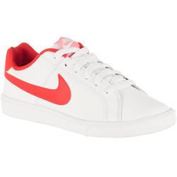 Sportschoenen dames Court Royale wit/roze