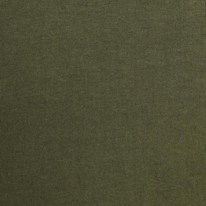 Polo de caza 100 manga corta verde