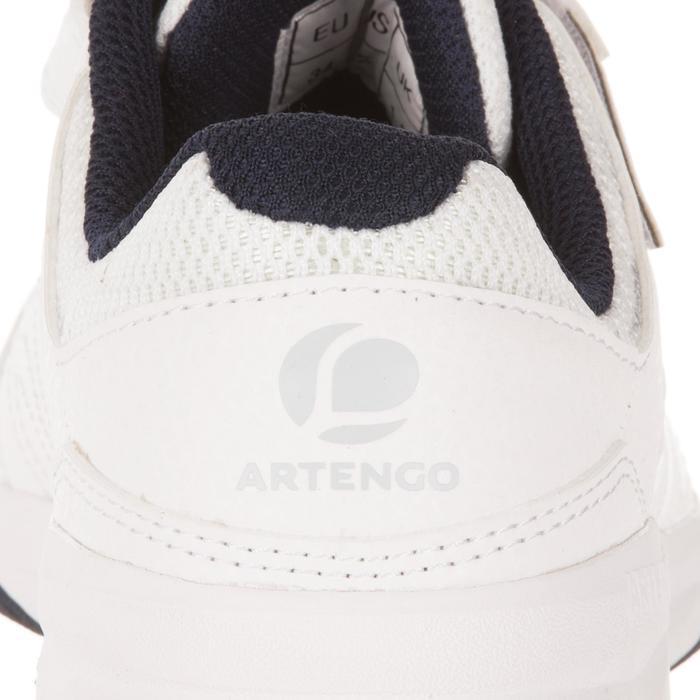 Tennisschuhe TS160 Turnschuhe Kinder weiß