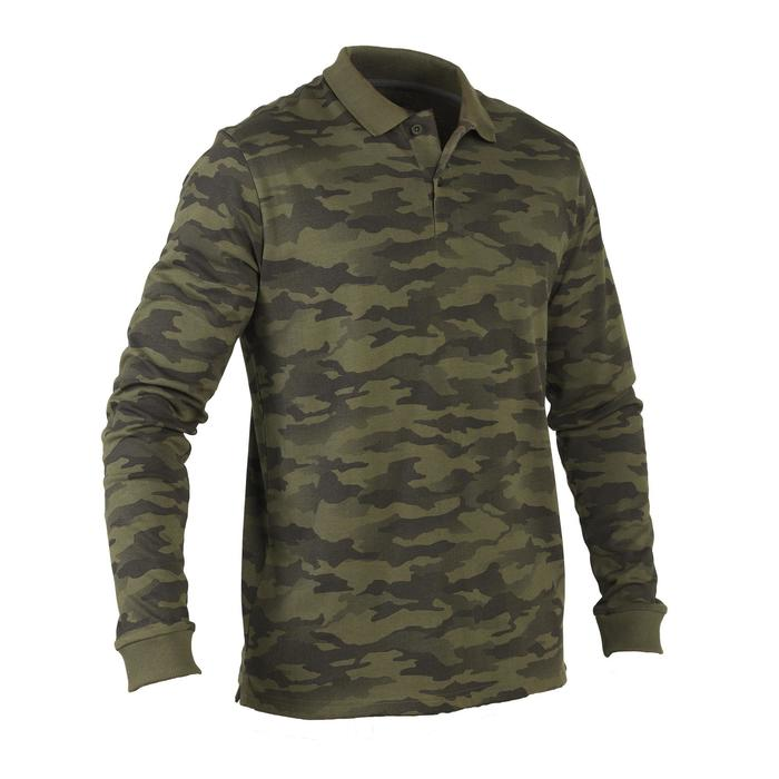 Polo 100 manches longues camouflages - 1063630