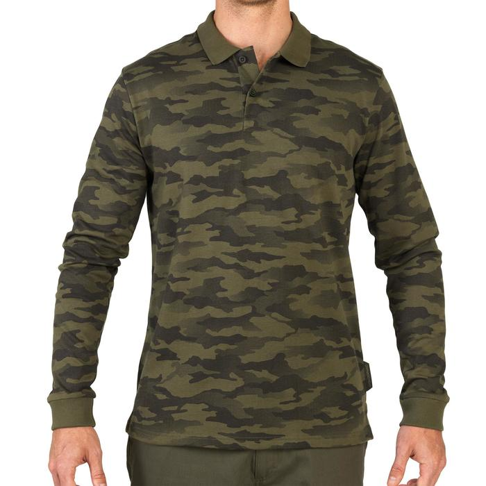 Polo 100 manches longues camouflages - 1063631