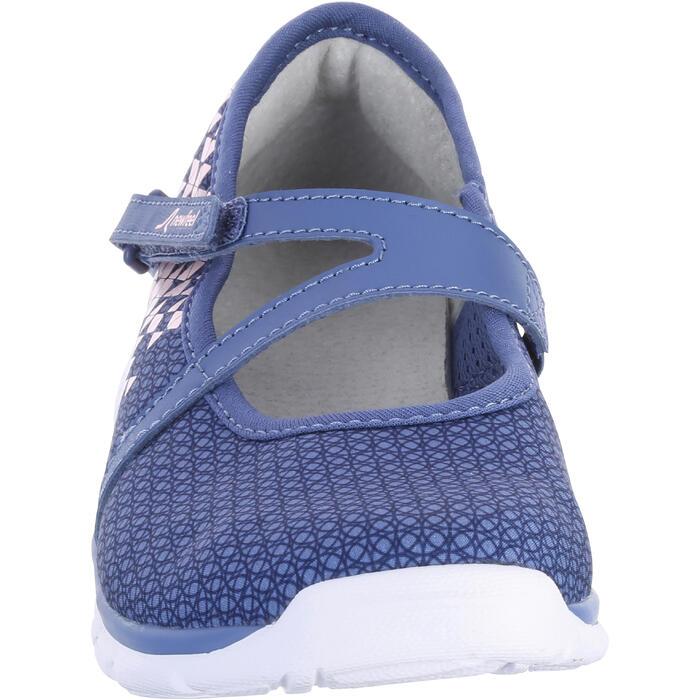Chaussures marche sportive enfant ballerine marine - 1063717