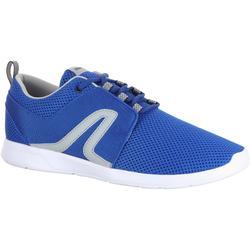Zapatillas de marcha deportiva para hombre Soft 140 mesh azul / gris