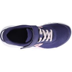 Zapatillas marcha para niños Soft 140 Fresh azul marino / corales