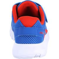 Tenis de marcha deportiva para niños Soft 140 Fresh azul / rojo