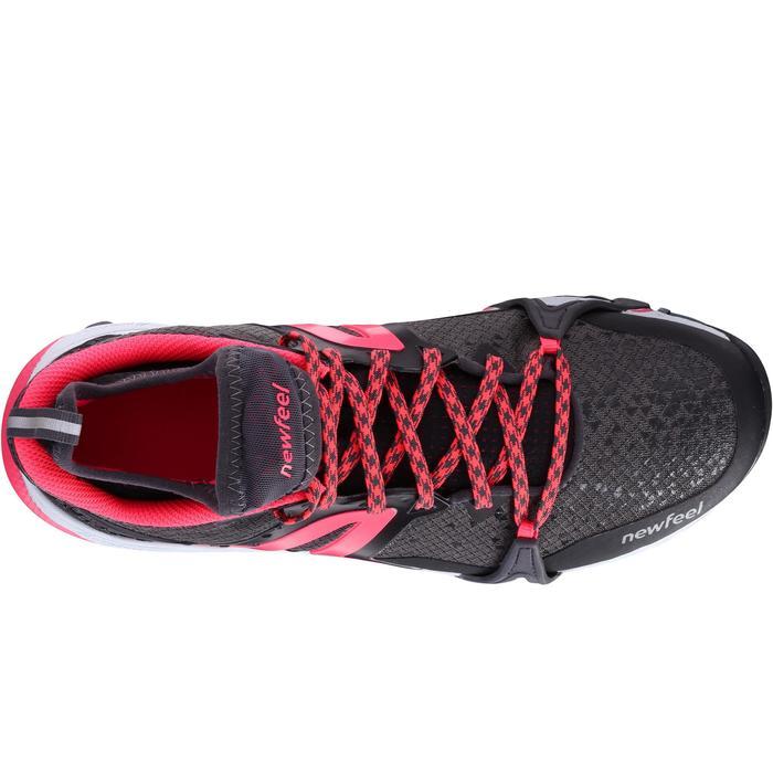 Nordic walking schoenen voor dames NW 900 Flex-H zwart / roze