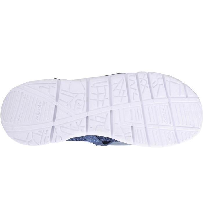 Chaussures marche sportive enfant ballerine marine - 1063800