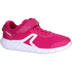 Chaussures marche sportive enfant Soft 140 Fresh rose