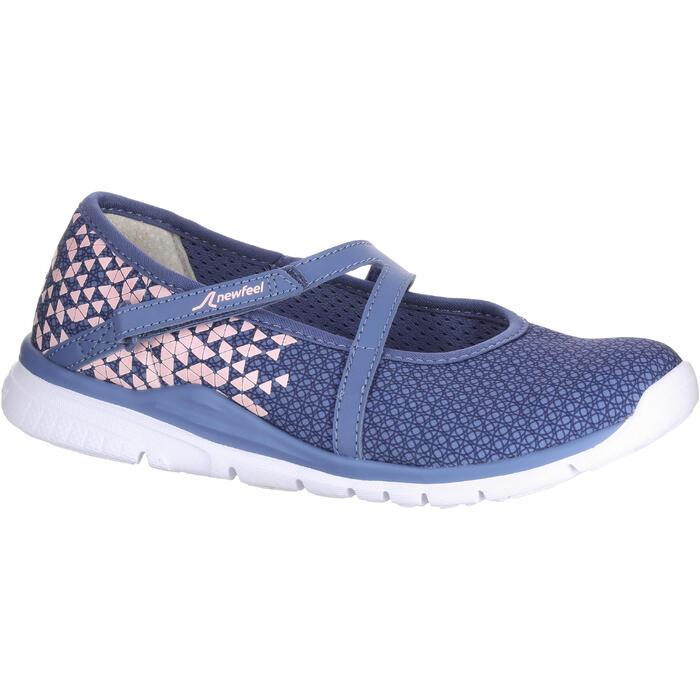 Chaussures marche sportive enfant ballerine marine - 1063828