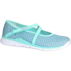 Ballerina Children's Fitness Walking Shoes - Turquoise