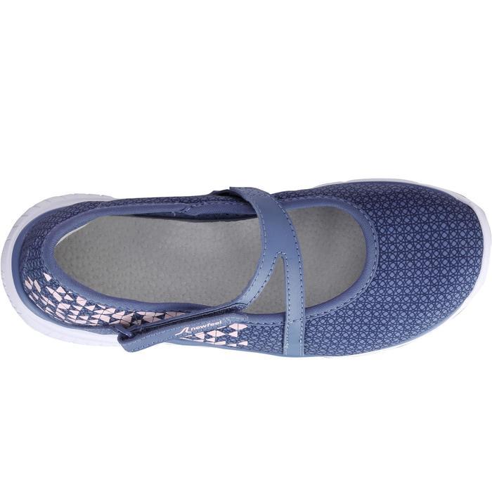 Chaussures marche sportive enfant ballerine marine - 1063914