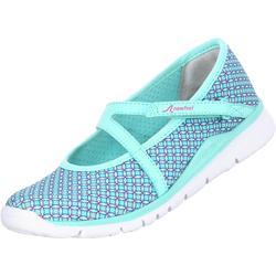 兒童健身步行芭蕾舞式運動鞋 - 土耳其藍