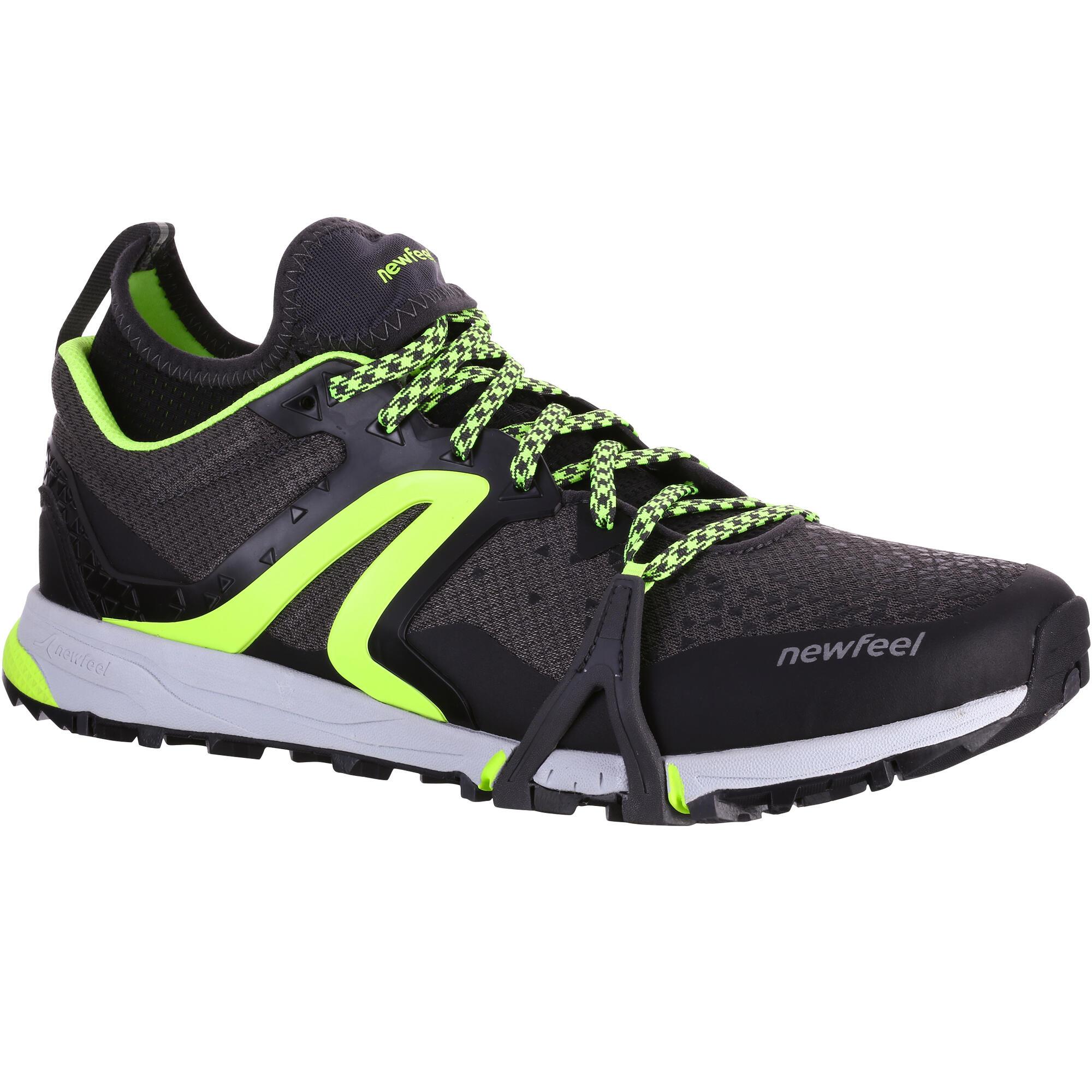 Nordic Walk 900 men's Nordic walking shoes black/green ...