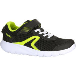 Soft 140 Fresh kids' walking shoes black/yellow