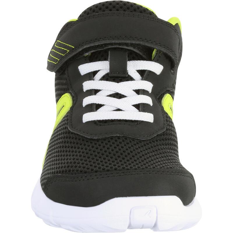 Soft 140 Fresh kids' walking shoes black/yellow