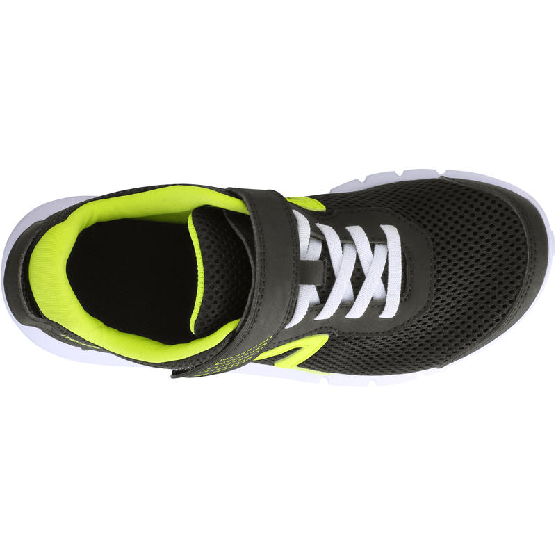 Soft 140 Fresh Children's Fitness Walking Shoes - Black/Yellow