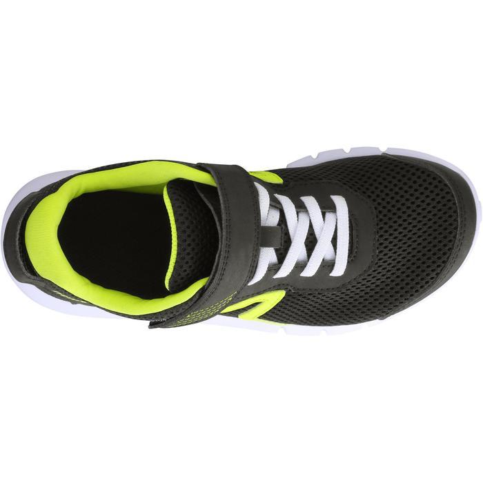 Zapatillas marcha para niños Soft 140 negras / amarillas