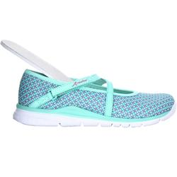 Children's Fitness Walking Ballerina Pumps - Turquoise