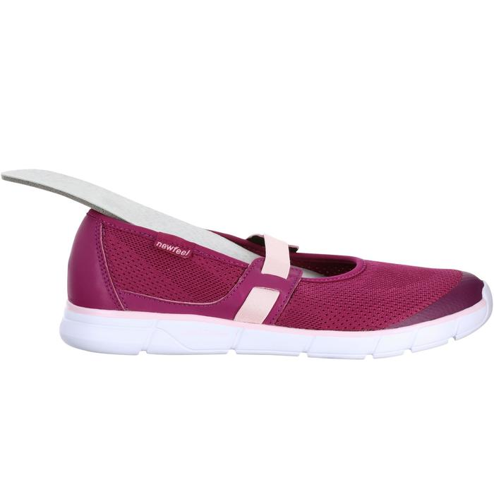 Soft 520 Women's Fitness Walking Ballerina Pumps - Purple/Pink