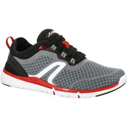 Soft 540 Mesh Men's Fitness Walking Shoes - Grey / Black