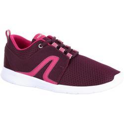 女款網眼健走鞋Soft 140-紫色/粉紅色
