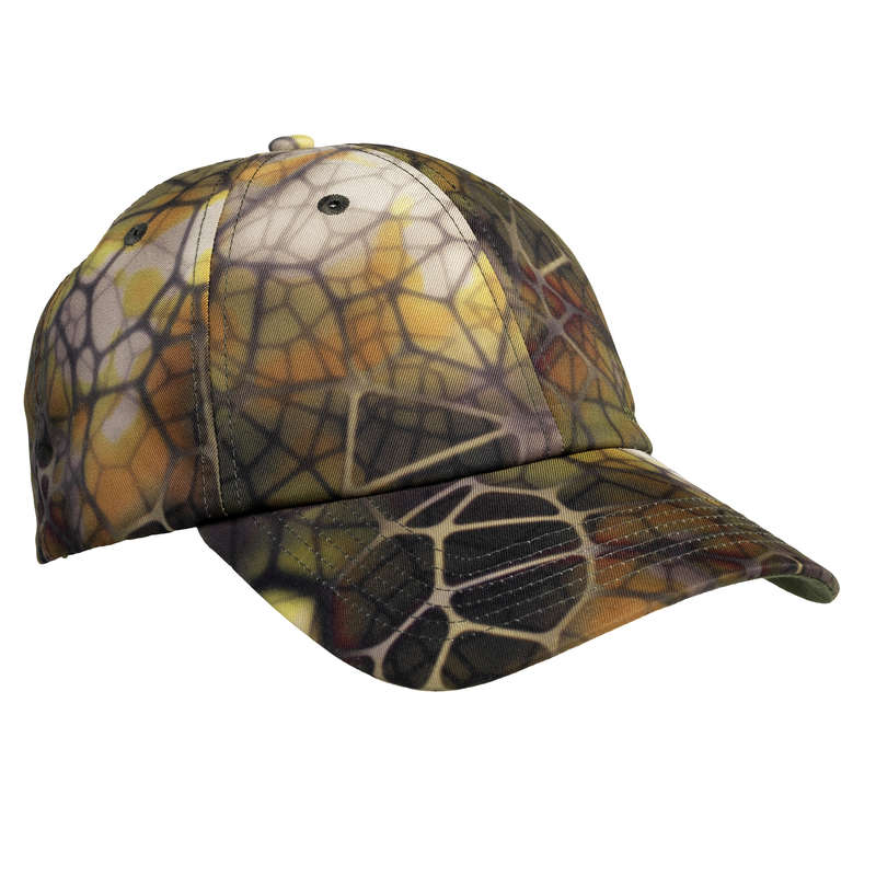 CAMO CLOTHING DRY/WET WEATHER Shooting and Hunting - Cap 100 - Furtiv SOLOGNAC - Hunting and Shooting Clothing
