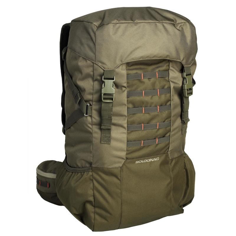 50L Backpack for Camping - Green