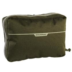 X-ACCESS POUCH WITH SAFE ZIP COMPARTMENTS