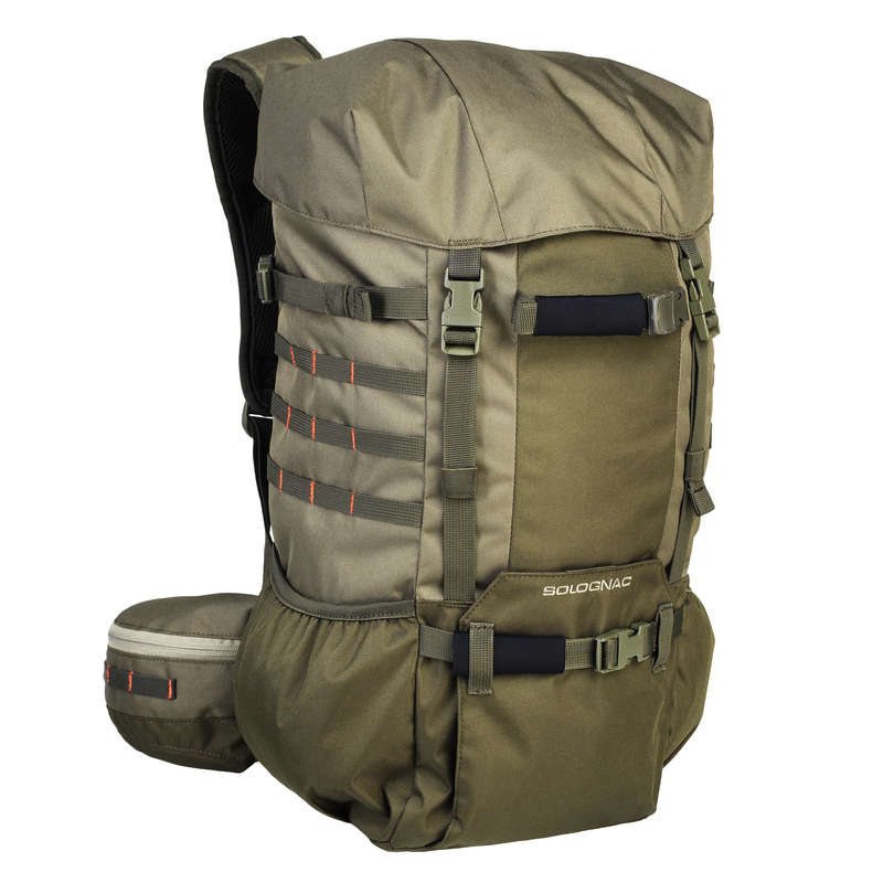 BAGS Shooting and Hunting - DRIVE BACKPACK 30L KHAKI SOLOGNAC - Hunting Types